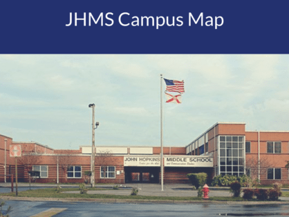 John Hopkins Middle School Campus Map