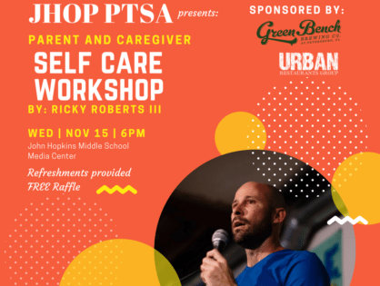 Parent and Caregiver Self Care Workshop