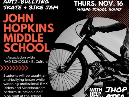 Anti-Bullying Skate and Bike Jam